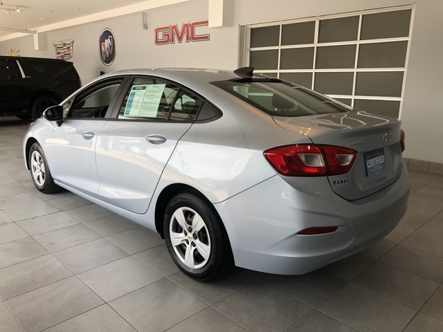 Certified Pre-Owned 2017 Chevrolet Cruze 4dr Sedan Automatic LS