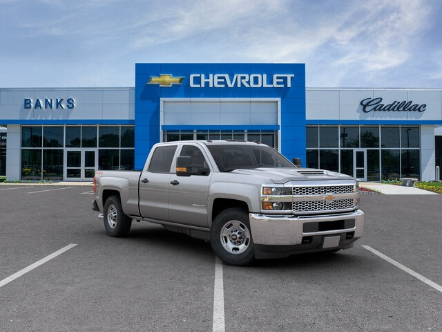 New 2019 Chevrolet Silverado 2500HD 4WD Crew Cab Standard Box Work Truck Duramax Four Wheel Drive Truck