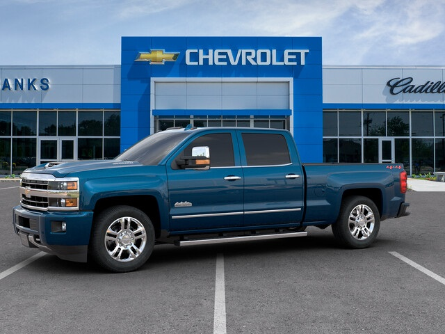 New 2019 Chevrolet Silverado 2500HD 4WD Crew Cab Standard Box High Country  Duramax 4WD