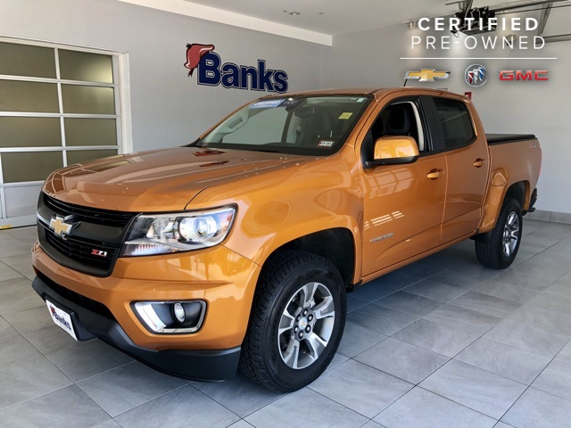 Certified Pre-Owned 2017 Chevrolet Colorado 4WD Crew Cab Short Box Z71
