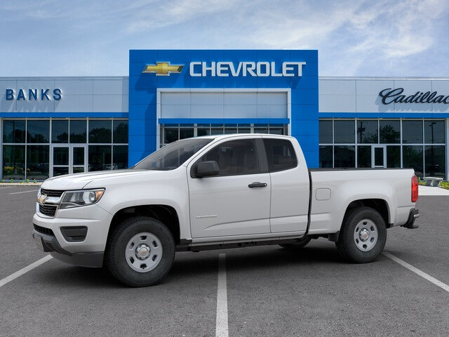New 2019 Chevrolet Colorado 2WD Extended Cab Short Box Work Truck