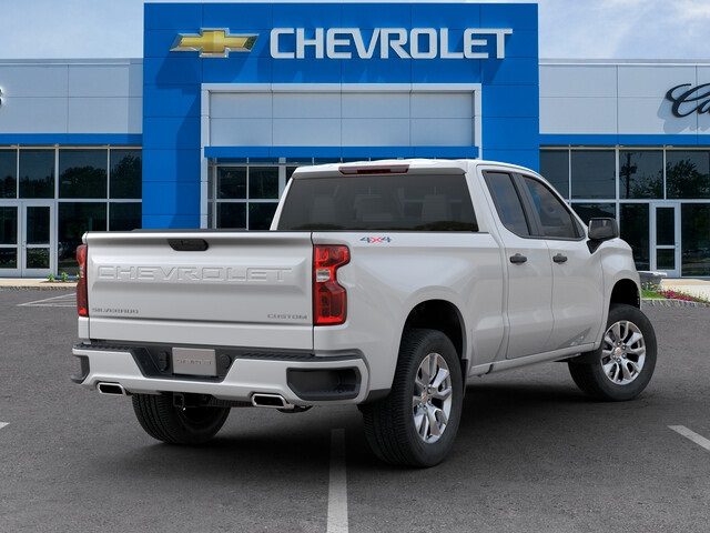 New 2019 Chevrolet Silverado 1500 4WD Double Cab 147