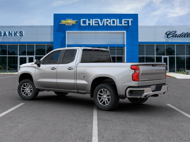 New 2019 Chevrolet Silverado 1500 4WD Double Cab Standard Box LT