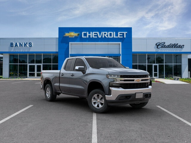 New 2019 Chevrolet Silverado 1500 4WD Double Cab Standard Box LT Four Wheel Drive Truck