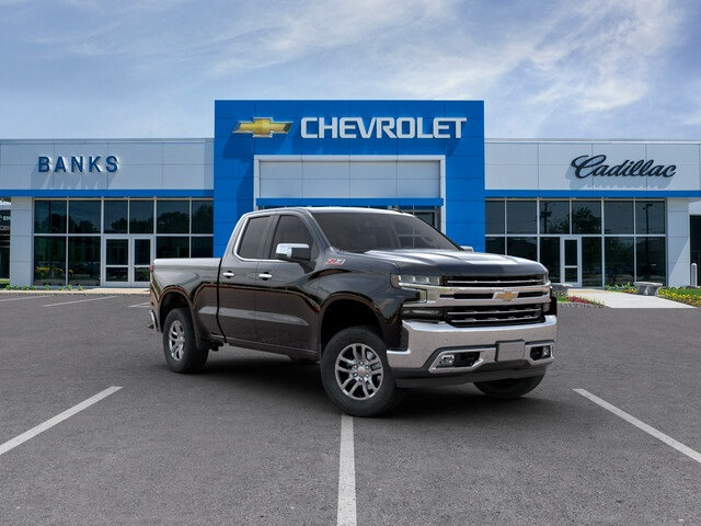 New 2019 Chevrolet Silverado 1500 4WD Double Cab Standard Box LTZ Four Wheel Drive Truck