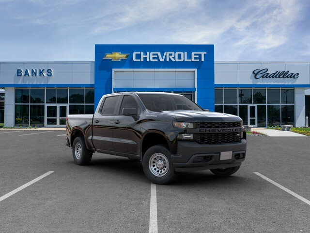 New 2019 Chevrolet Silverado 1500 4WD Crew Cab Short Box Work Truck