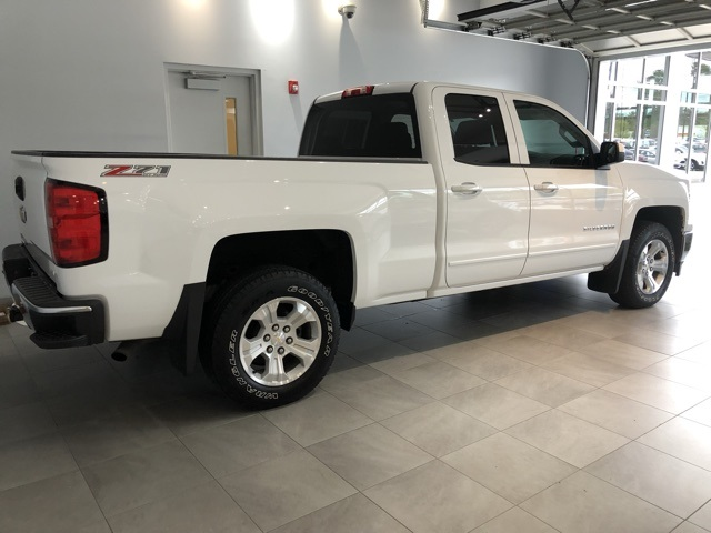 Certified Pre-Owned 2015 Chevrolet Silverado 1500 4WD Double Cab Standard Box LT