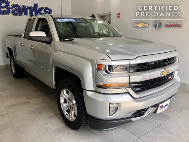 Certified Pre-Owned 2016 Chevrolet Silverado 1500 4WD Double Cab Standard Box LT Z71