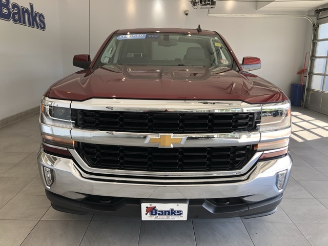 Certified Pre-Owned 2016 Chevrolet Silverado 1500 4WD Double Cab 143.5