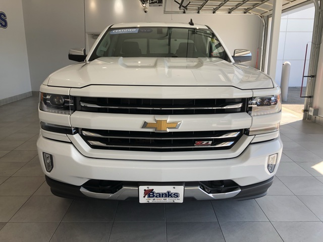 Certified Pre-Owned 2016 Chevrolet Silverado 1500 4WD Double Cab Standard Box LTZ Z71