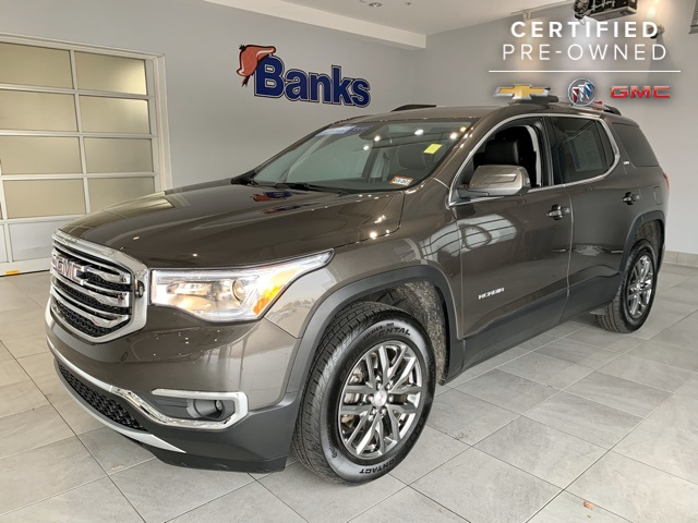 Certified Pre-Owned 2019 GMC Acadia AWD 4dr SLT w/SLT-1