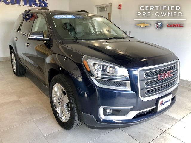 Certified Pre-Owned 2017 GMC Acadia Limited AWD Limited
