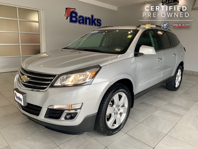 Certified Pre-Owned 2017 Chevrolet Traverse AWD 4dr LT w/1LT