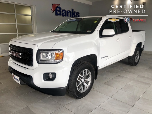 Certified Pre-Owned 2017 GMC Canyon 4WD Crew Cab SLE