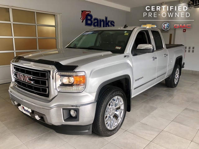 Certified Pre-Owned 2014 GMC Sierra 1500 4WD Double Cab 143.5
