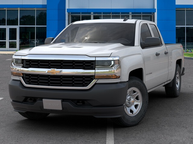 New 2019 Chevrolet Silverado 1500 LD 4WD Double Cab Work Truck