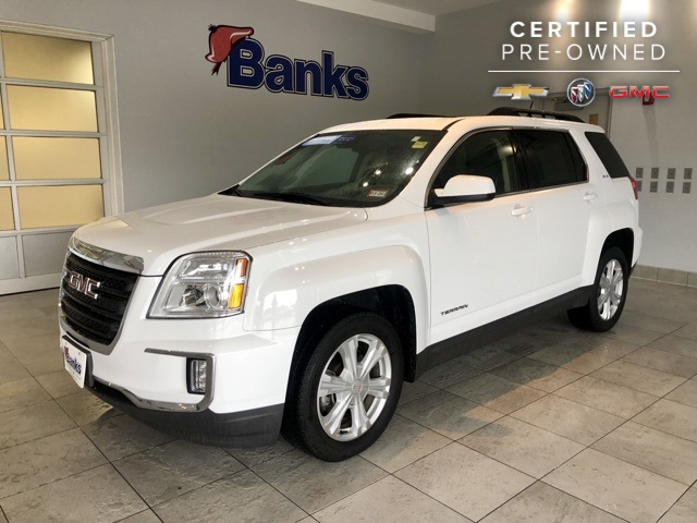 Certified Pre-Owned 2017 GMC Terrain AWD SLE-2