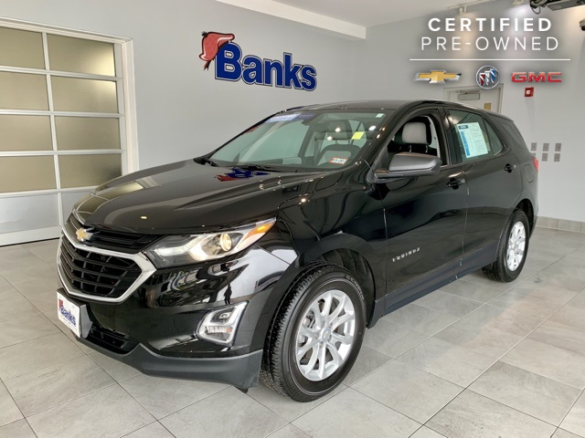 Certified Pre-Owned 2018 Chevrolet Equinox AWD LS
