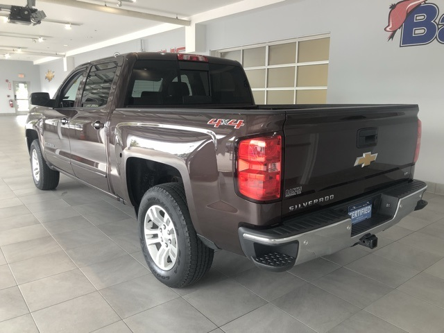 Certified Pre-Owned 2016 Chevrolet Silverado 1500 4WD Crew Cab Short Box LT