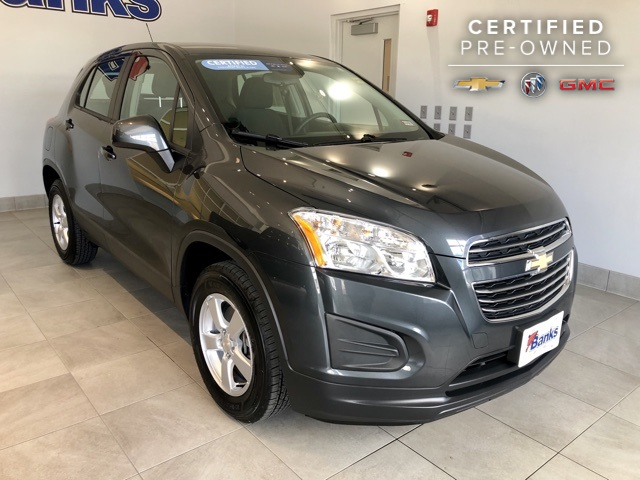 Certified Pre-Owned 2016 Chevrolet Trax AWD LS