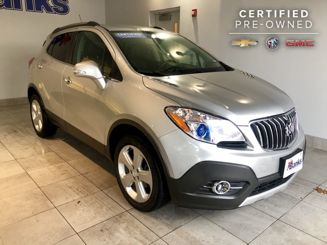 Certified Pre-Owned 2015 Buick Encore AWD Convenience
