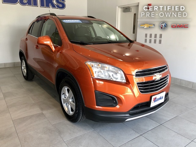 Certified Pre-Owned 2016 Chevrolet Trax AWD 4dr LT