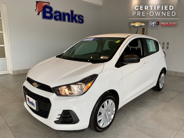 Certified Pre-Owned 2016 Chevrolet Spark 5dr Hatchback CVT LS