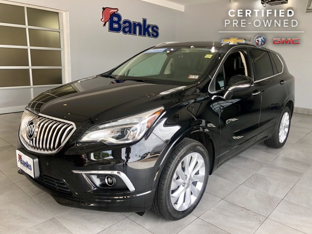 Certified Pre-Owned 2018 Buick Envision Premium I