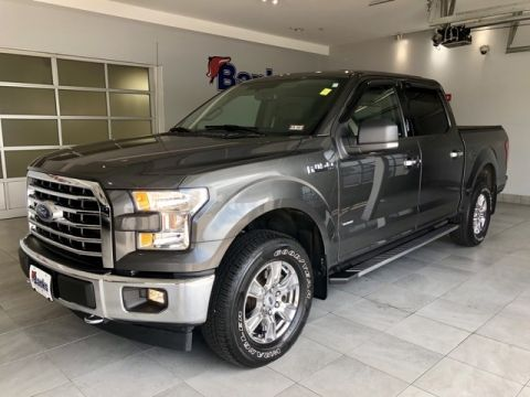 Pre-Owned 2017 Ford F-150 4WD SuperCrew 5.5' Box