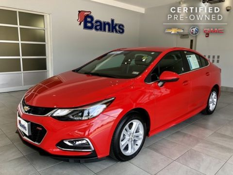 Certified Pre-Owned 2017 Chevrolet Cruze 4dr Sedan Automatic LT