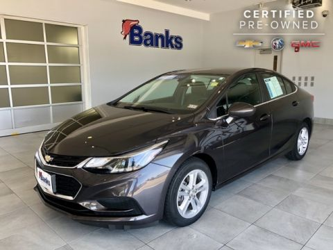 Certified Pre-Owned 2016 Chevrolet Cruze 4dr Sedan Automatic LT