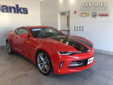 Certified Pre-Owned 2018 Chevrolet Camaro Coupe LT