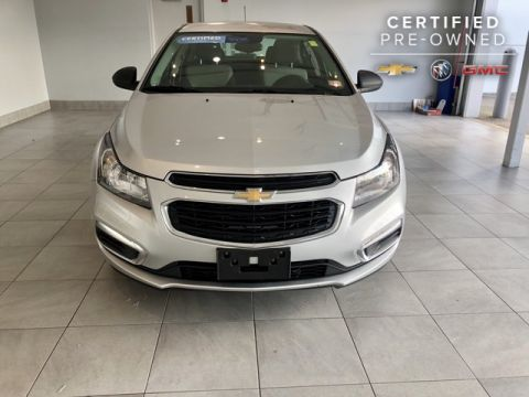 Certified Pre-Owned 2016 Chevrolet Cruze Limited 4dr Sedan Manual L