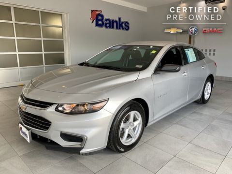 Certified Pre-Owned 2017 Chevrolet Malibu 4dr Sedan LS w/1LS