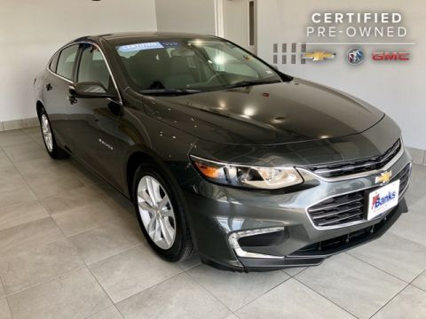 Certified Pre-Owned 2016 Chevrolet Malibu 4dr Sedan LT w/1LT