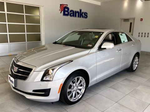 Pre-Owned 2018 Cadillac ATS 2.0L AWD Luxury