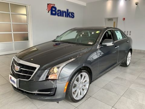 Pre-Owned 2017 Cadillac ATS 4dr Sedan 2.0L Luxury AWD