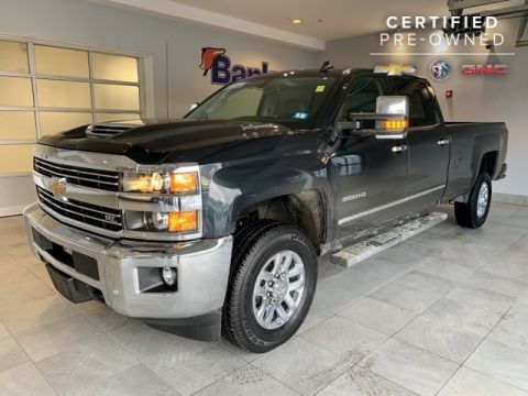Certified Pre-Owned 2017 Chevrolet Silverado 3500HD LTZ