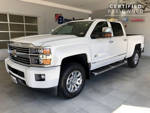 Certified Pre-Owned 2016 Chevrolet Silverado 3500HD 4WD Crew Cab Standard Box High Country