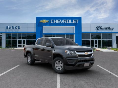 New 2019 Chevrolet Colorado 4WD Crew Cab Short Box Work Truck
