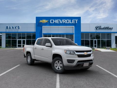 "New 2019 Chevrolet Colorado 4WD Crew Cab 128.3"" Work Truck"