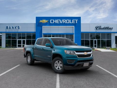 New 2019 Chevrolet Colorado 4WD Crew Cab Short Box WT