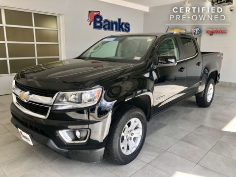 Certified Pre-Owned 2016 Chevrolet Colorado 4WD Crew Cab Short Box LT