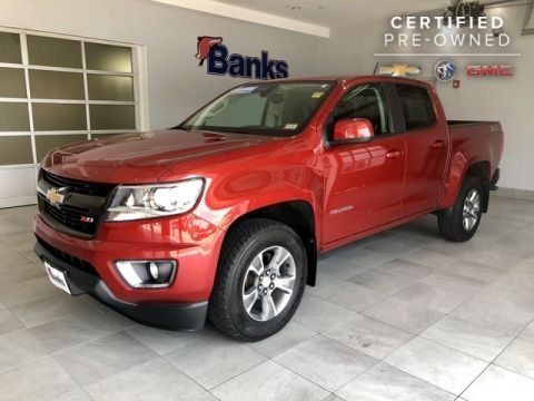 Certified Pre-Owned 2016 Chevrolet Colorado 4WD Crew Cab Short Box Z71