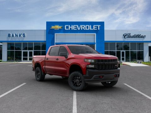 "New 2020 Chevrolet Silverado 1500 4WD Crew Cab 147"" Custom Trail Boss"