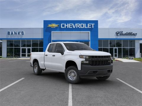 "New 2020 Chevrolet Silverado 1500 4WD Double Cab 147"" Work Truck"
