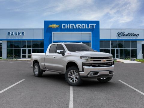 "New 2020 Chevrolet Silverado 1500 4WD Double Cab 147"" LTZ"