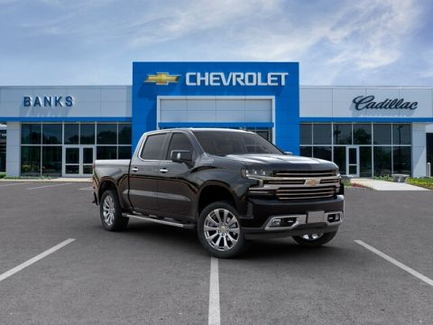 New 2019 Chevrolet Silverado 1500 4WD Crew Cab Short Box High Country