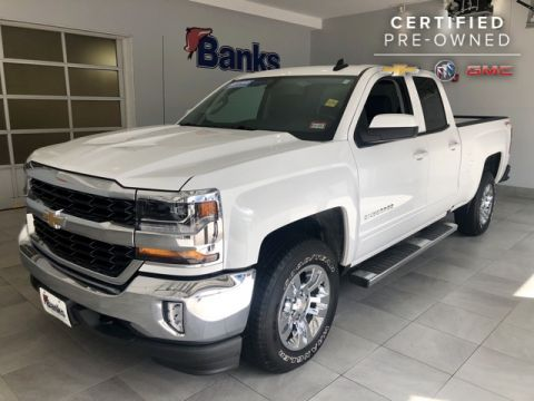 Certified Pre-Owned 2016 Chevrolet Silverado 1500 4WD Double Cab Standard Box LT
