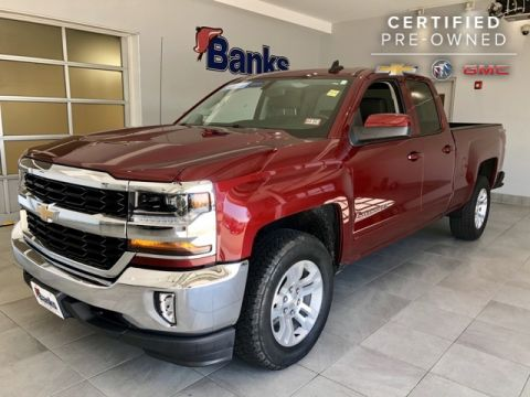 "Certified Pre-Owned 2016 Chevrolet Silverado 1500 4WD Double Cab 143.5"" LT w/1LT"